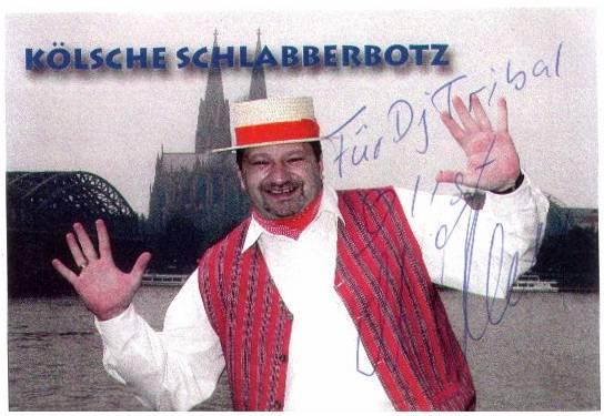 Koelsche-Schlabberbotz-Autogrammkarte